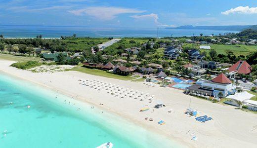 九州各地発 ANA・SFJ・SNA利用シュノーケリングツアー・カヌー等アクティビティができる大満喫パスポート付 さらにビーチサイドBBQディナー滞在中1回付オクマプライベートビーチ&リゾートに滞在 大満喫沖縄4日間