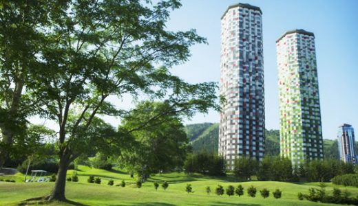 福岡発 スカイマーク利用憧れの「星野リゾート トマム ザ・タワー」に泊まるロングステイトマム7日間