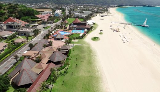 ■GoToトラベル事業支援対象■<松山発>~コテージヴィラプラン~大満喫パスポート&ビーチサイドBBQディナー滞在中1回付オクマプライベートビーチ&リゾートに滞在 沖縄4日間
