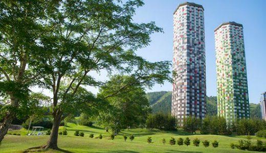 【富山発着】ANAで行く!レンタカー付 憧れのリゾートホテル『星野リゾートトマムザ・タワー』に泊まる トマム3日間
